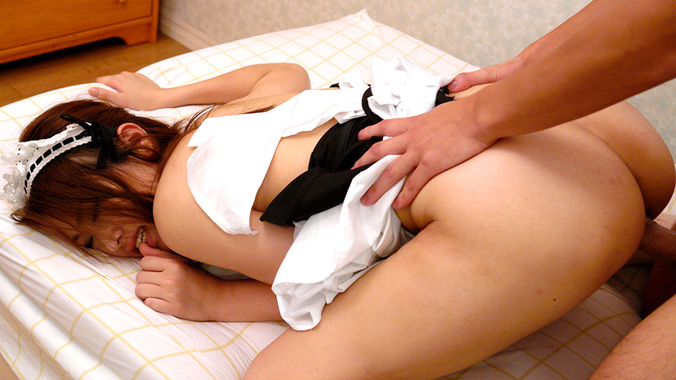 Red Japanese Dude Got A Parcel With An Alive Room Maid Inside For Dirty Sexual Entertainments