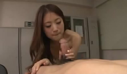 Slim Asian New Secretary Gets Tasted By Her Boss In Her First Working Day