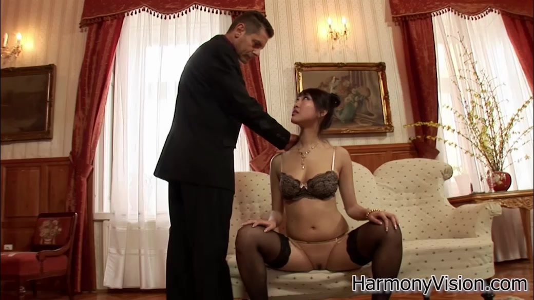Amazing Asian Hooker With Big Tits Gets Her Cunt Toyed Before Cockriding
