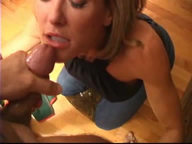 Amature blonde suck cock dry