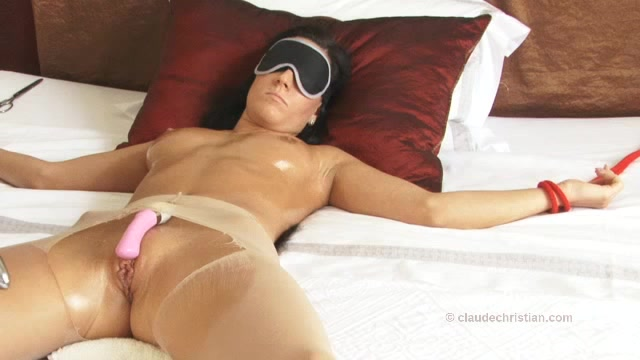 blindfold surprise sex