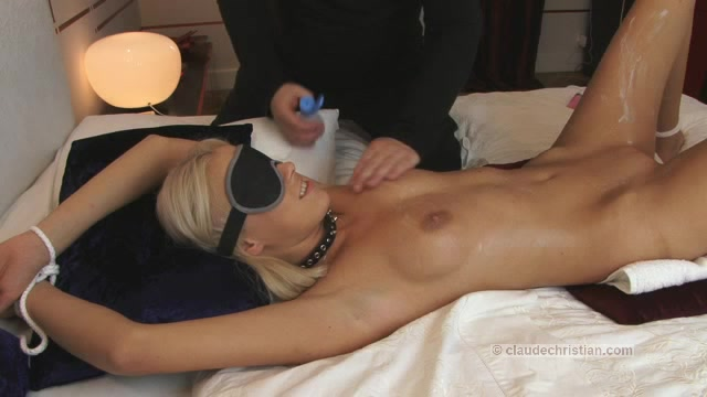 tricked switched milf blindfolded