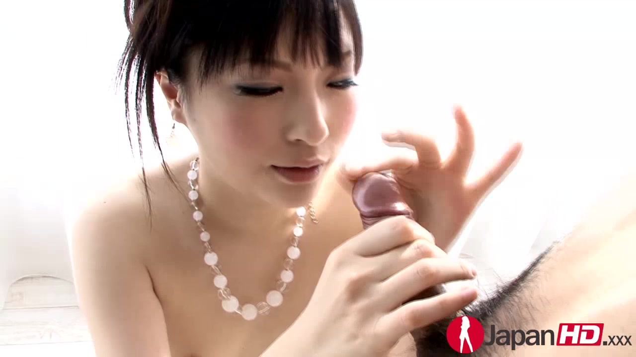 Sweet Japanese Hottie Wearing White Bikini Licks Her Boyfriend's Nipples Before She Sucks His Cock Then She Takes Off Her Bra And Rubs It Between Her Boobs Before She Sucks It's Balls Then Gives It Another Blowjob Til It Blows On Her Face.