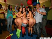 invasion surprise party
