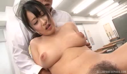 Sexy Asian Teacher With Bubble Ass Enjoys Group Fuck
