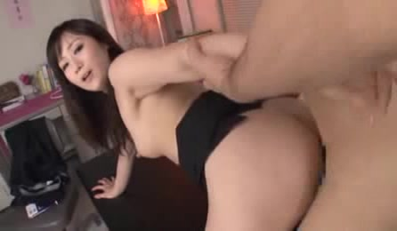 Hot Sexy Japanese Teacher In Black Pantyhose Feels So Horny And Need Sex Badly