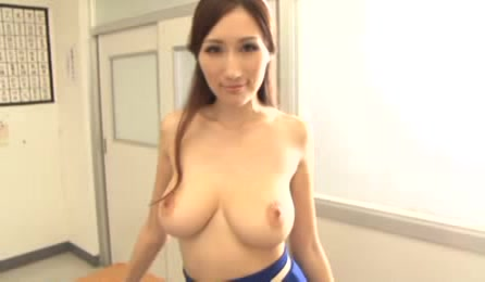 Superb Japanese Milf Is One Horny Teacher Who Needs To Play And Have Some Extra Time At School