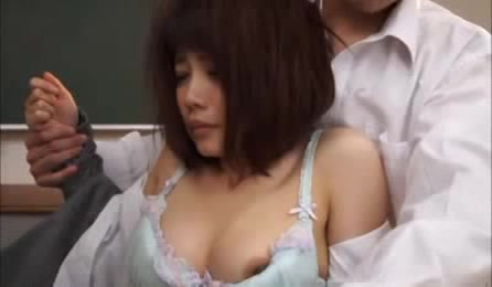 Bad Students Assault Sexy Teacher And Start To Tease Her Lovely Body