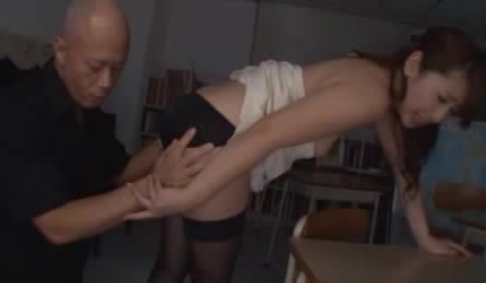 Superb Japanese Teacher Loves Having Her Wet Pussy Drilled Hard In This Staggering Asian Hardcore Porn Session