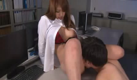 Sweet And Sexy Japanese Sex Doll Likes Hard Fuck In Computer Lab