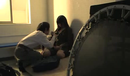 Stunning Japanese Schoolgirl Kidnapped And Forced To Suck Dirty Cocks