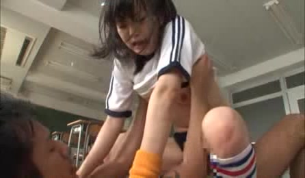 Sexy Japanese School Girl Pounded Hard And Deep In Their Classroom