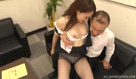 Curvy As Japanese Office Lady Is Pretty Aroused By This GuyґS Dirty Proposals