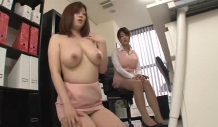 Cute Japanese Mature Office Ladies With Big Tits Get Naughty And They Want Some Fun In The Office