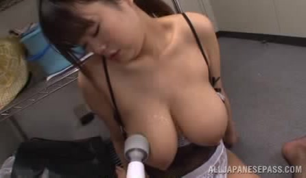 Astonishing Busty Office Chick Likes To Have Her Big Boobs Teased By Her Horny Talented Mature Lover