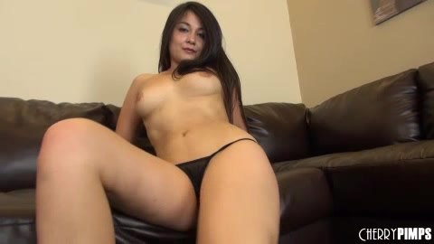 Thick Exotic Girl Rubs Hairy Pussy And Plays With Vibrator