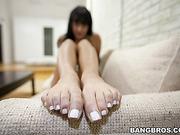 feet on earth